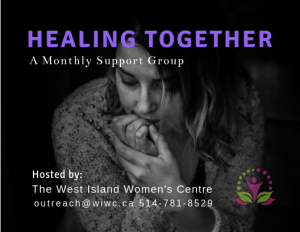 Healing Together Support Group @ West Island Women's Centre