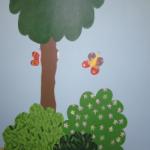 Childcare room tree