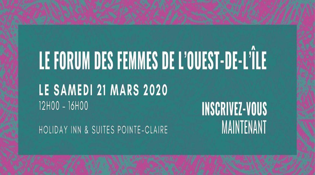 Le Forum des femmes de l'ouest de l'ile